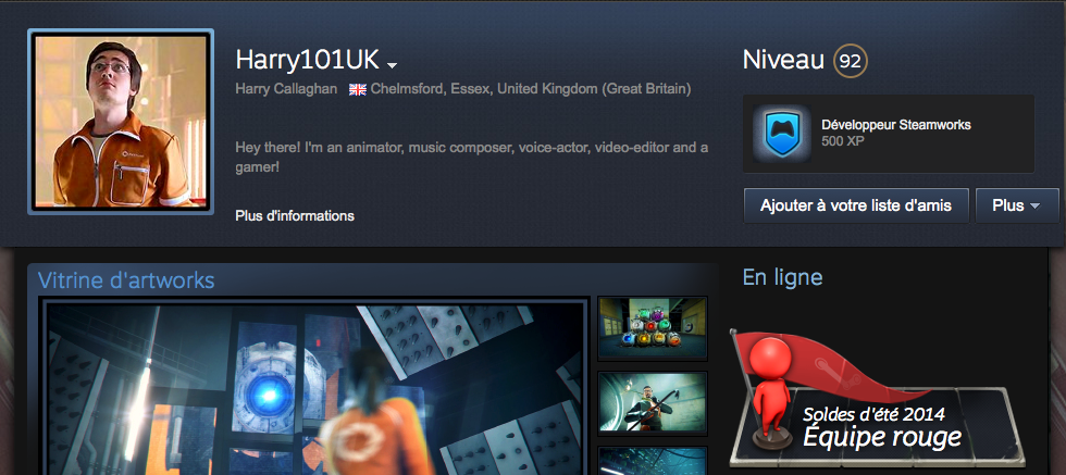 Steam Profile Harry101UK