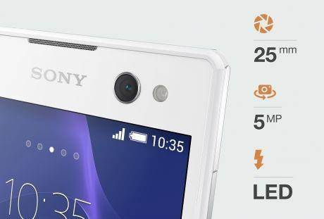 Fonctions Sony Xperia C3