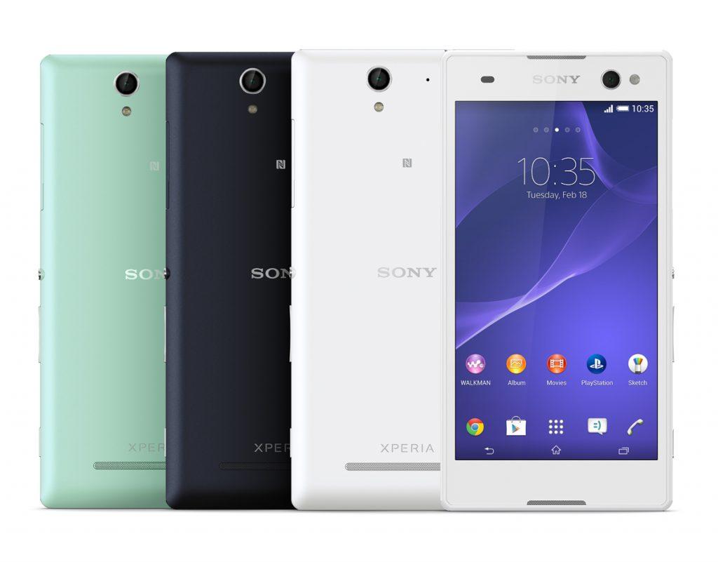 Gamme Sony Xperia C3