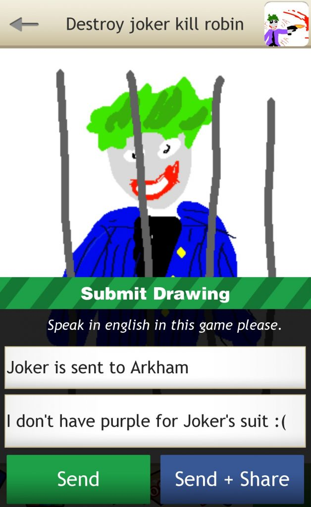 Draw Destruction Joker
