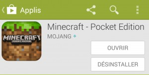 Minecraft Pocket Edition Play Store