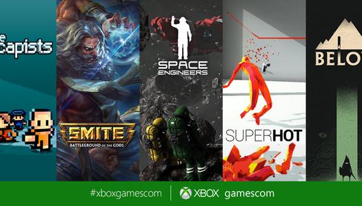 Gamescom : De très nombreux jeux indépendants pour la Xbox One