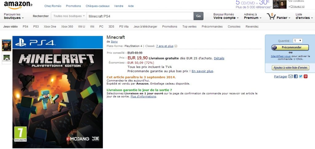Minecraft-Amazon-PS4