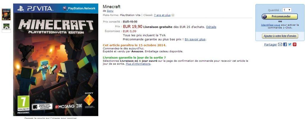 Minecraft-Amazon-Vita