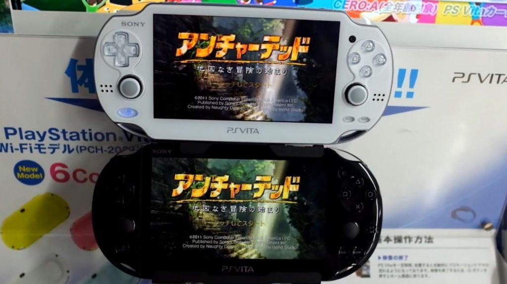 Comparaison écrans PS Vita