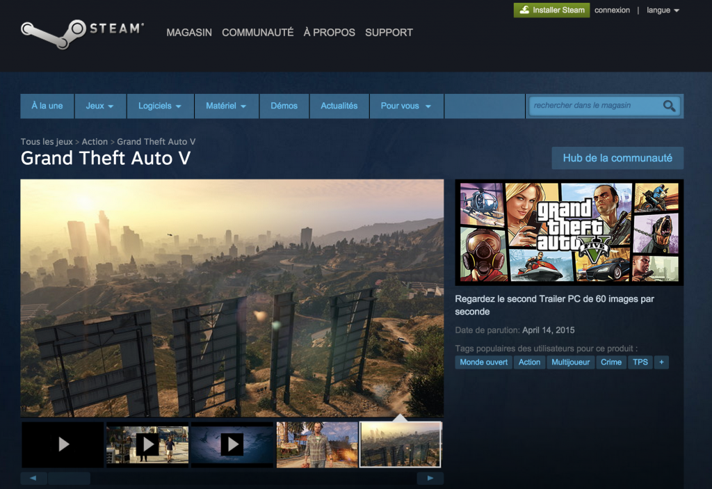 GTA V - PC - Steam