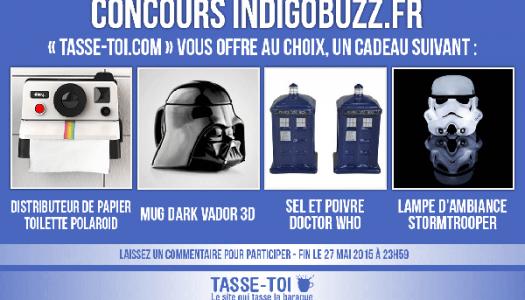 Concours : Gagne un objet geek au choix avec «Tasse-Toi» !