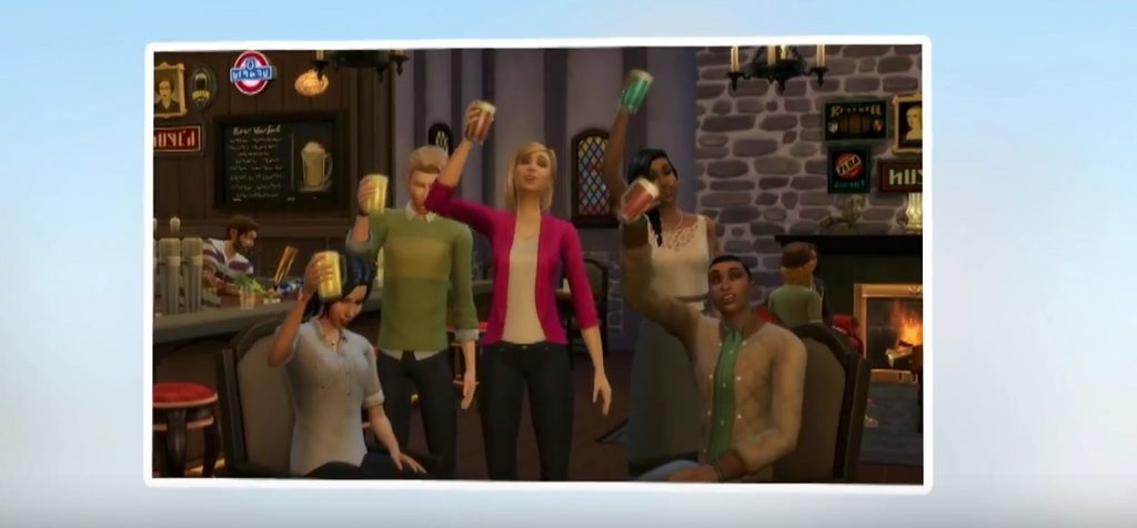 Les Sims 4 Get Together