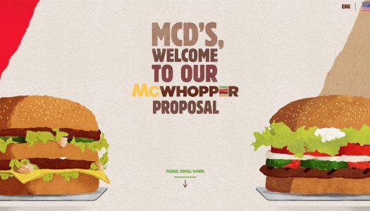 Burger King et McDonalds unis pour créer le McWhopper ?