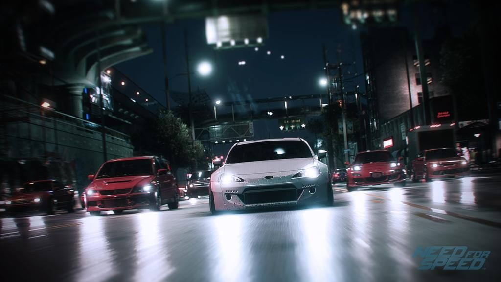 Need for Speed in-game trailer
