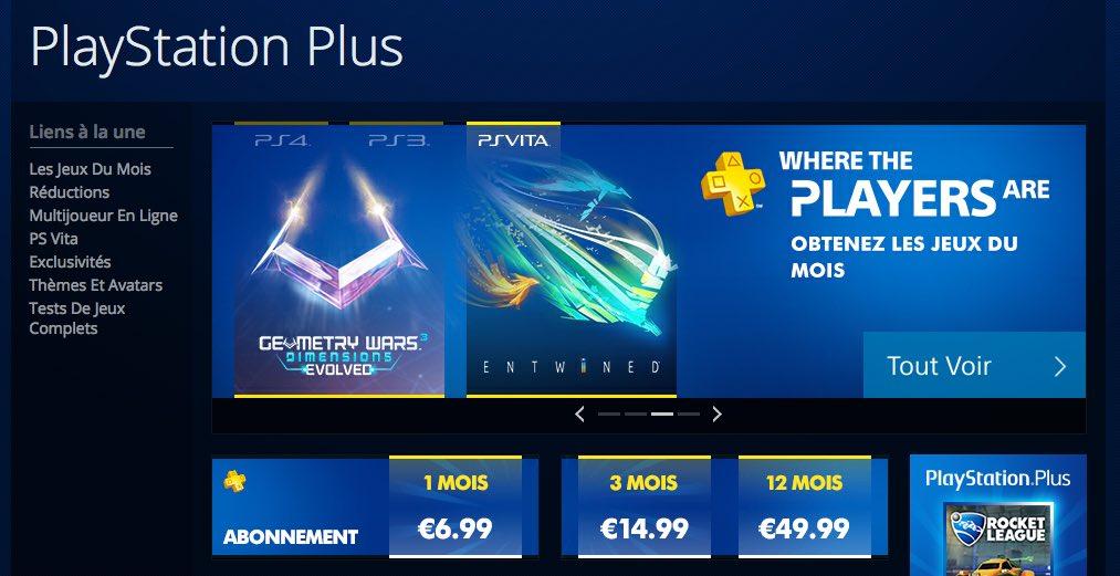 offres playstation plus france aout 2015