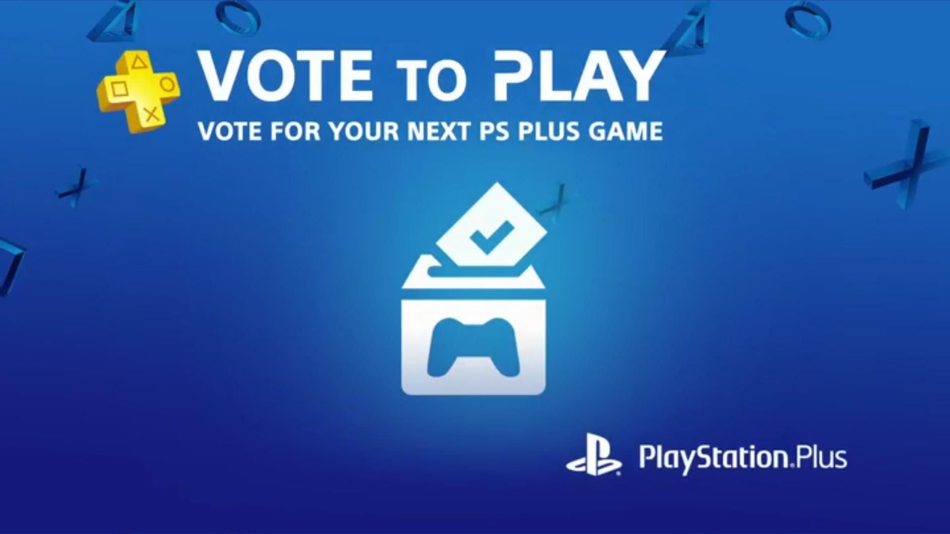 PlayStation Plus vote des jeux offerts