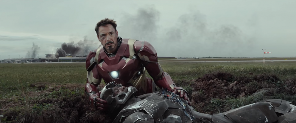 Tony Stark - James Rhodes