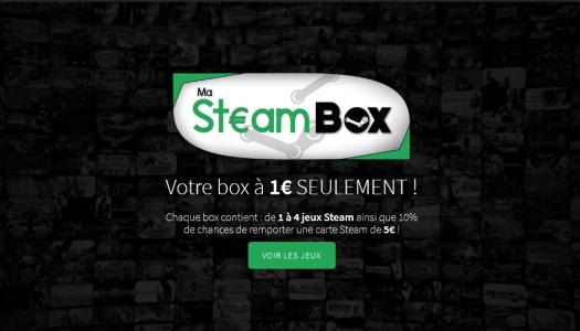 MaSteamBox, la pochette surprise nouvelle génération !
