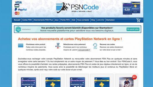 Acheter ses cartes PSN en ligne ? C'est possible avec PSN Code !