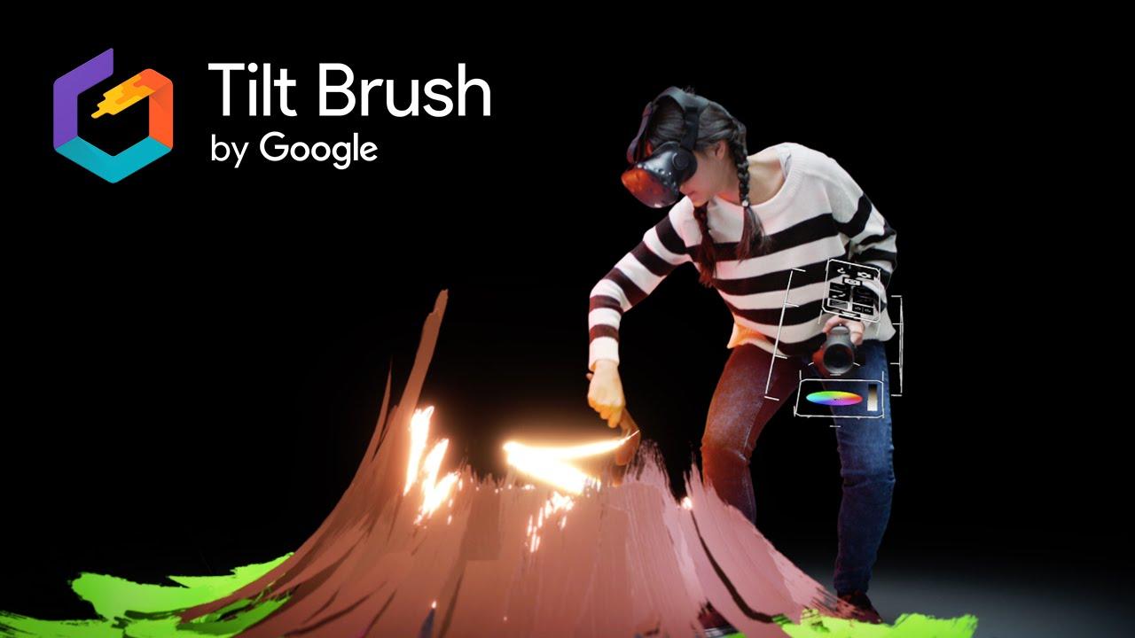 Tilt Brush, un logiciel de dessin en réalité virtuelle par Google