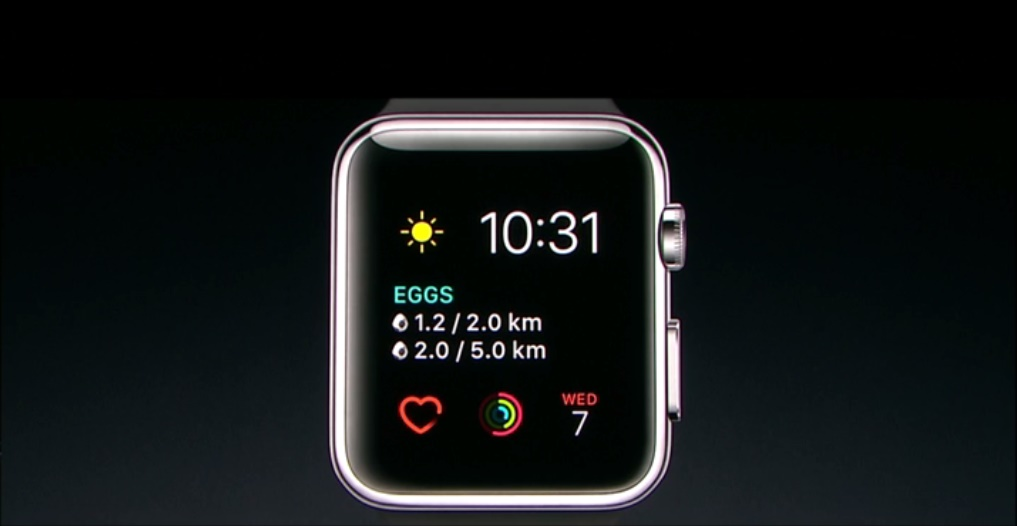 Ecran acceuil apple watch w/ pkmgo