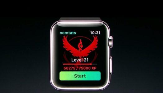 Pokémon Go débarque sur l'Apple Watch