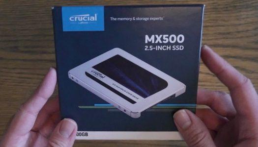 Test du (très) bon Crucial SSD MX500 500GO