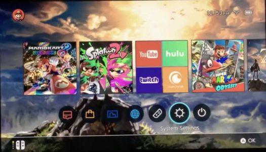 Rumeur : La mise à jour 5.0 de la Nintendo Switch proposerait des dossiers, thèmes, applications… ?