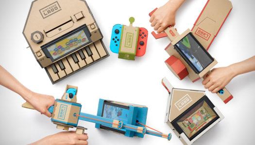 Nintendo Labo : Le concept se dévoile avec de nouvelles vidéos