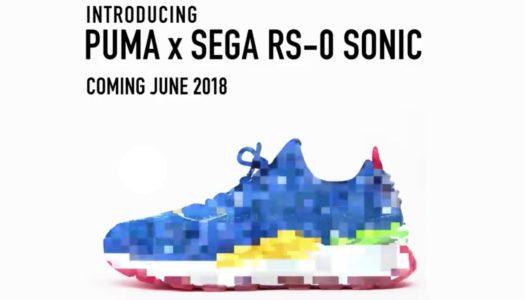 Sega et Puma annoncent une paire de Sneakers aux couleurs de Sonic !