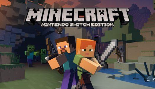 Minecraft est le jeu le plus téléchargé sur l'eShop de la Nintendo Switch
