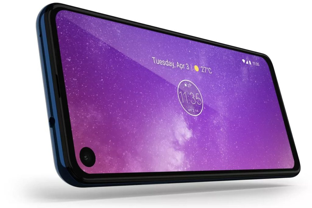 Motorola One Vision Punch Hole Display