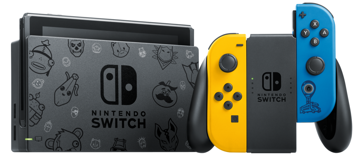 Console Nintendo Switch édition Fortnite